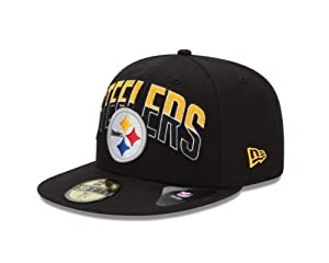 Nfl Pittsburgh Steelers Draft 59fifty Fitted Cap from SteelerMania