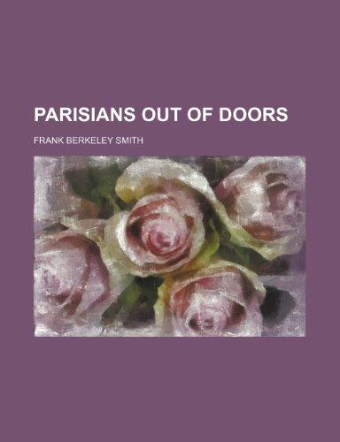 Parisians Out of Doors