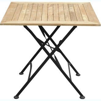 Courtyard Folding Square Table