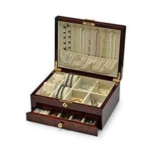 Handcrafted wooden jewelry box jewlery boxes for Ross simons jewelry store