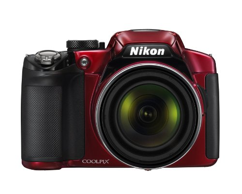 Nikon COOLPIX P510 Compact Digital Camera - Red (16.1MP, 42x Optical Zoom) 3 inch LCD