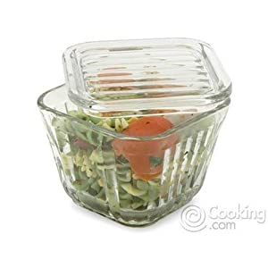 ANCHOR Glass Refrigerator Storage Container, 2 cup capacity, Sold in packs of 4