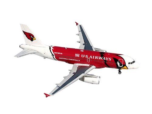Gemini Jets US Airways A319 Die Cast Aircraft (Arizona Cardinals), 1:200 Scale (Us Airways Plane compare prices)