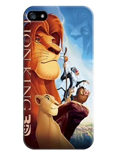 Fashion E-Mall Coolest TPU Logo case Top (The Lion King) iphone5/5s Designer Cover