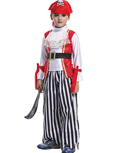 CM-Kid Child's Pirates Of The Caribbean Cosplay Halloween Costume
