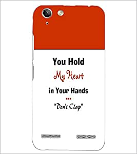 PrintDhaba Quote D-5968 Back Case Cover for LENOVO A6020a46 (Multi-Coloured)