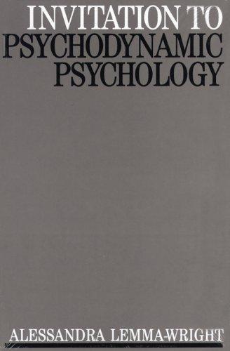 Invitation to Psychodynamic Psychology (Invitations to Psychology)