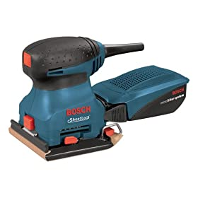 Bosch 1297DK 2 Amp 1/4-Sheet Sander with Dust Canister