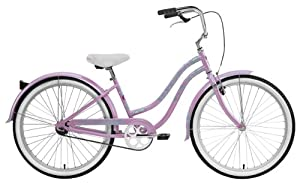 Nirve Beach Blossom Ladies 1 speed Bicycle (Lavender)