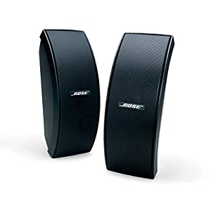 Bose 151 SE Environmental Speakers, elegant outdoor speakers - Black