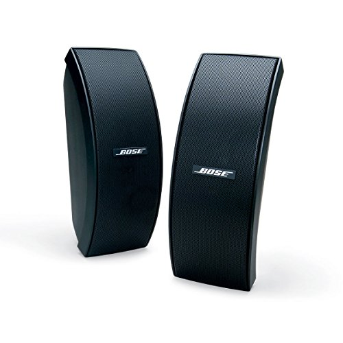 Bose 151 SE Environmental Speakers, elegant outdoor speakers - Black (Outdoor Speakers Bose compare prices)