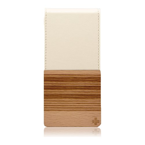 Special Sale Simplism Vertical Flip Style Leather iPhone 5 Case (Beige)