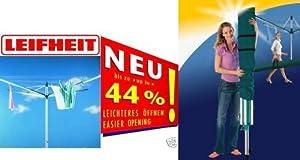 1.Wahl LEIFHEIT Wäschespinne Linomatic S 500 + Bodenhülse + Schutzhülle original von Leifheit