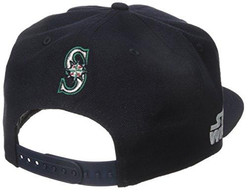 the best attitude e53d0 ce5d9 New Era Cap Men s Logo Swipe Seattle Mariners Star Wars 9Fifty Snapback Cap,  Blue, One Size   Hat Ou