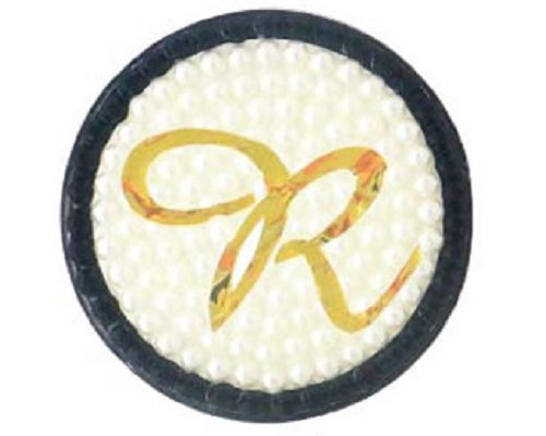 ARNY イニシャル 缶バッジミラー R