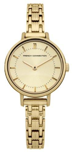 French Connection de mujer reloj de pulsera Lillie analógico de cuarzo Acero inoxidable fc1176gm