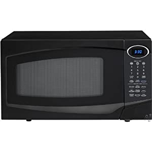 1.0 Cu. Ft. 1100W Microwave with Sensor Cook - Black