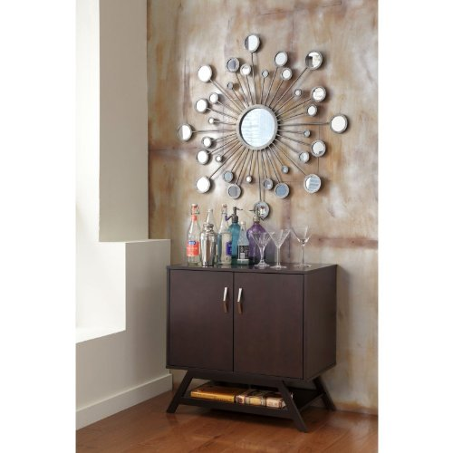 Cheap Bush Signature Modern Canted-Style Console Table – Macchiata (UR80933-03)