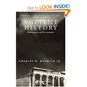 Ancient History: Monuments and Documents (Blackwell Introductions to the Classical World) ebook