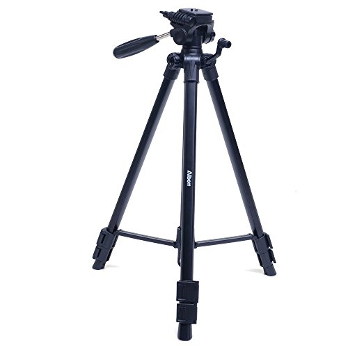 Albott-63-Inch-Professional-SLR-Camera-Aluminum-Travel-Tripod-Portable-with-Carry-Bag