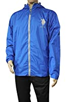 U.S. Polo Assn. Men's Solid Windbreaker with Hood