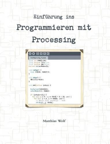 Buchcover: Einführung ins Programmieren mit Processing