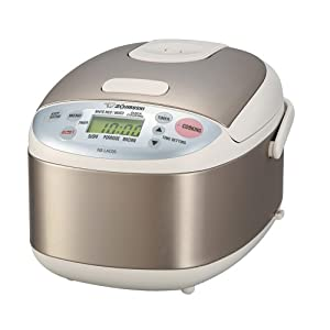 photo of the Zojirushi NS-LAC05XA rice cooker