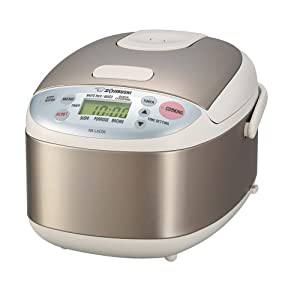 Zojirushi NS-LAC05 Micom Rice Cooker and Warmer in Stainless Steel