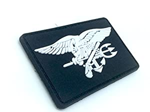 US Navy Seal Special Ops Aigle Noir Patch Velcro Airsoft PVC