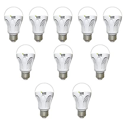 Imperial 9W E27 3546 LED Premium Bulb (White, Pack of 10)
