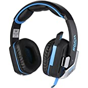 Kotion Each G8200 7.1 Channel USB Over Ear Gaming Headphones For PC With Vibration And LED Lights