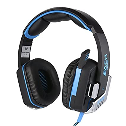 Kotion Each G8200 7.1 Channel USB Over Ear Gaming Headset (For PC)