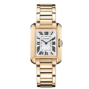 Cartier Tank Anglaise Small 18K Rose Gold Watch Watch - W5310013