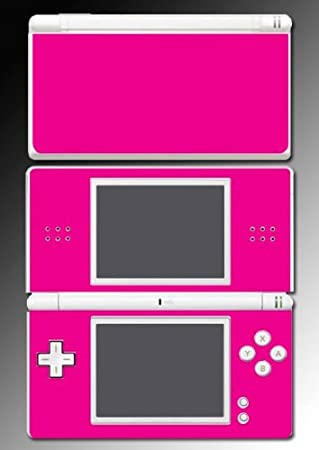 Hot Pink Color Barbie Kitty Vinyl Video Game Vinyl Decal Skin Protector Cover 5 for Nintendo DS Lite