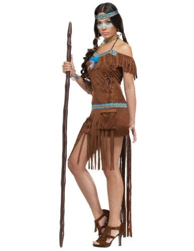 Medicine Woman Adult Costume 10-14 Adult Womens Costume