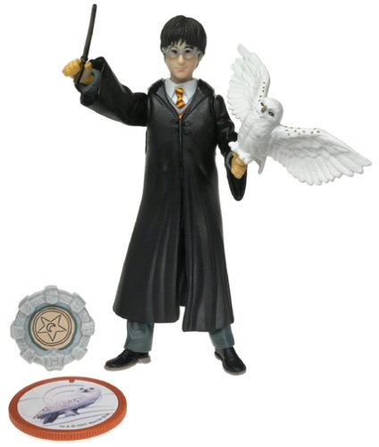 Picture of Mattel Harry Potter and the Sorcer's Stone Gryffindor Harry Figure (B00005NWVZ) (Harry Potter Action Figures)