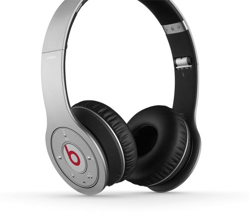 Beats by Dr. Dre WIRELESS | Beats Wireless On-Ear Headphone (Silver 900-00100-01)