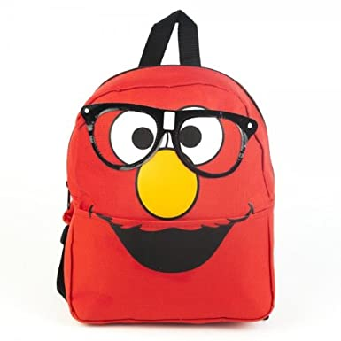 Sesame Street Glasses Elmo Mini Backpack Bag