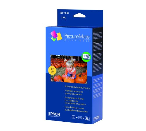 Epson T5570-M Print Pack Cartridge for Epson PictureMate Printers (Blue)