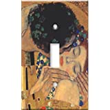 Klimt - The Kiss II Decorative Switch Plate
