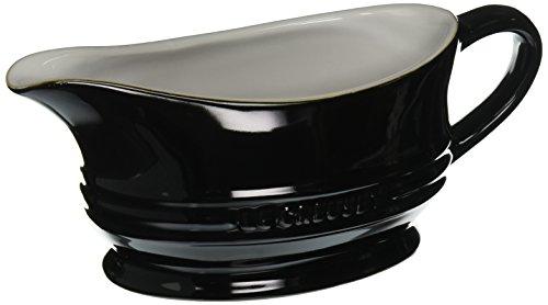 Electric Gravy Boat ~ New le creuset stoneware gravy boat black free shipping代拍