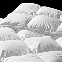 Hot Sale 289 TC California/ Cal - Oversized/ Super King White Goose Down Comforter: Summer Fill
