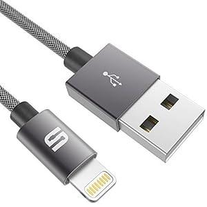 Syncwire iPhoneケーブル 生涯保証付き lightningケーブル 高耐久 ライトニングケーブル