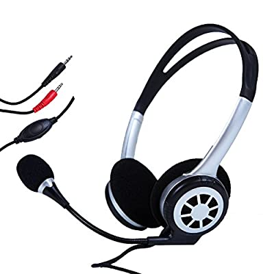 Jaras® JJ-818 Multimedia Stereo Headset For PC/Chat/Gaming with Microphone Volume Control