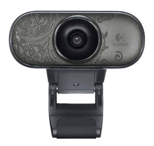 Logitech C210 Webcam schwarz