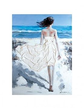 Imagen Gemälde la Bella en el mar