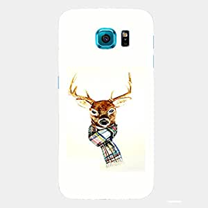 Back cover for Samsung Galaxy S6 Edge Plus Winter Deer 2