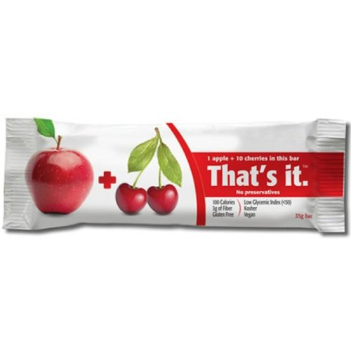 That'S It Apple Bar, Cherry, 12 Count