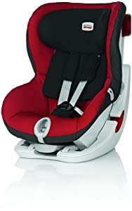 Britax KING II EVERYDAY Group 1  9 Months - 4 Years Forward Facing Car Seat (Chili Pepper)