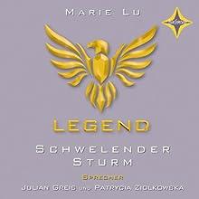 Schwelender Sturm (Legend 2) Hörbuch von Marie Lu Gesprochen von: Julian Greis, Patrycia Ziolkowska